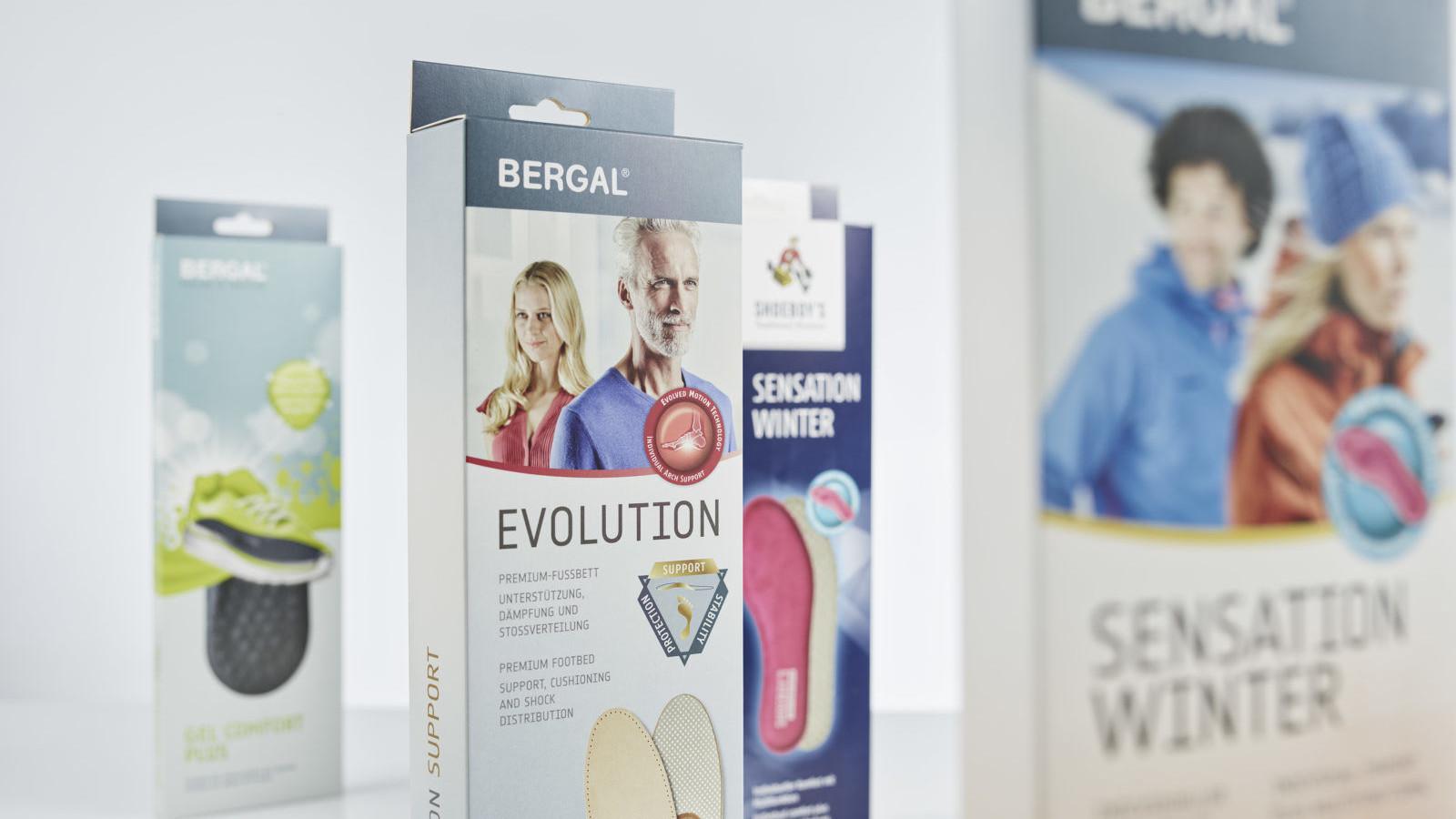 Bergal Verpackungen Evolution und Sensation Winter