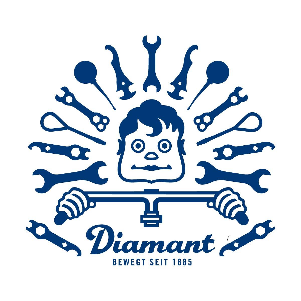 Logo Icon Diamant 99° Köpfchen Symbol Vektoren 99 Grad Illustration einfarbig