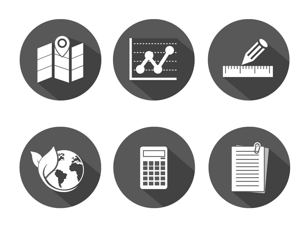 Schwarz weiss Vektorstil Illustrator 99 Grad Icon Button