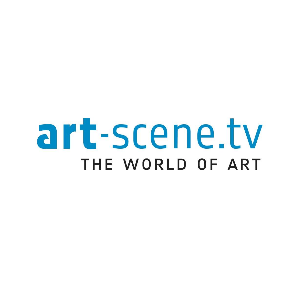 Logo Web Entwicklung Markenzeichen Art Scene TV