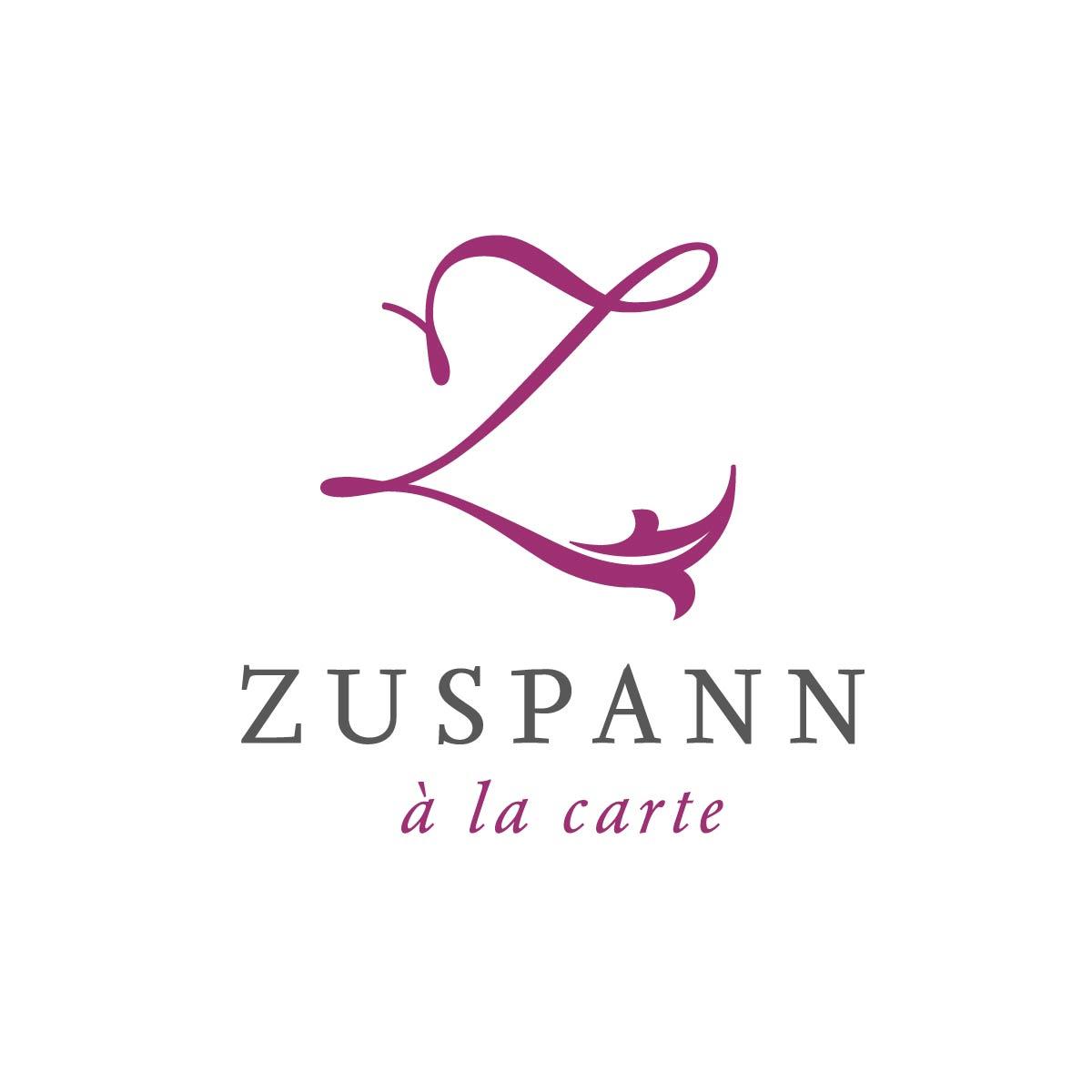 Signetentwicklung Zusapnn Gastronomie Wort-Marke