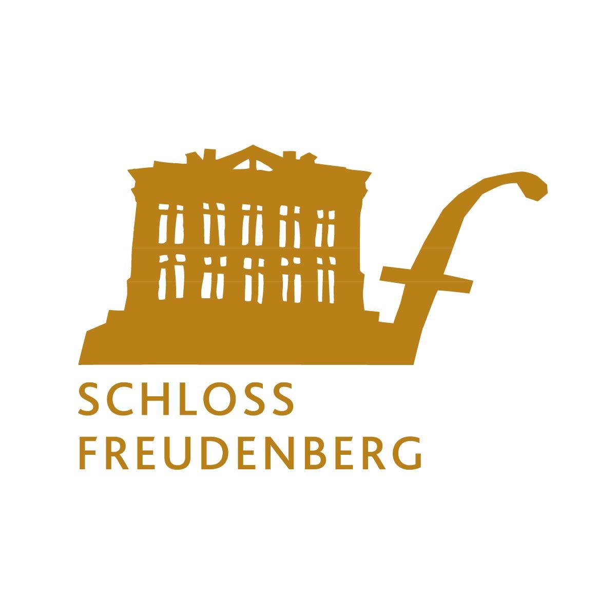 Wort-Bild-Marke Signet Schloss Freudenberg Erfahrungsfeld