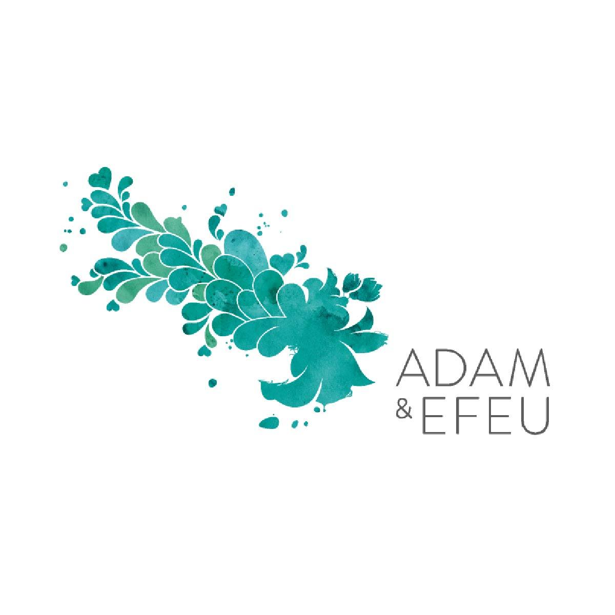 Wort-Marke Wort-Bild-Marke Firmenlogo Namensfindung Signetentwicklung Wiesbaden adam & efeu adam und efeu