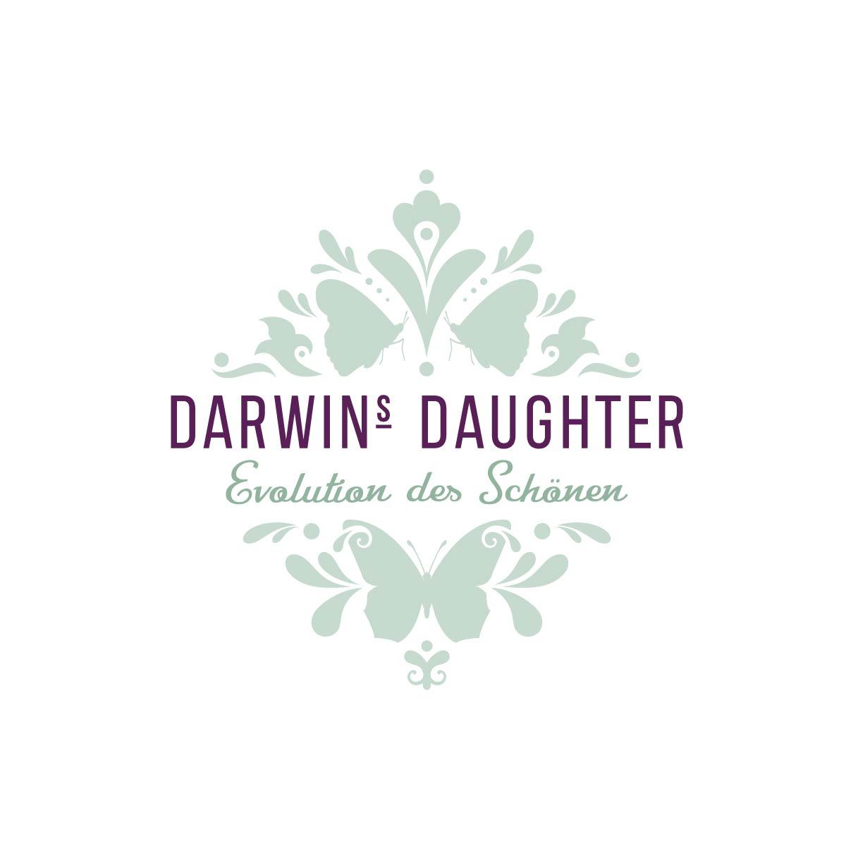Logo Signet Gestaltung Design Darwins Dughter Ruedesheim